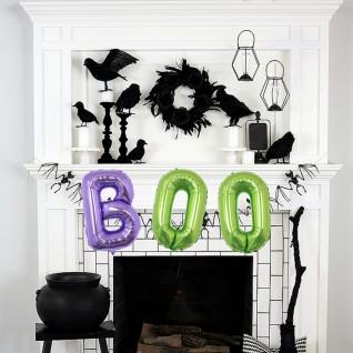 Balloon 3D Three-dimensional Bat Aluminum Balloon for Halloween Party