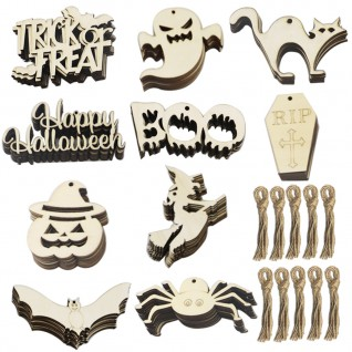 Creative Wooden Crafts Party Decorations for Halloween