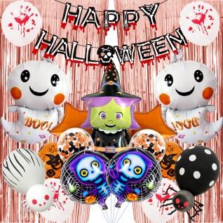 Halloween Scene Decoration Props Aluminum Balloons