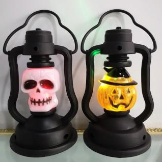 Colorful Portable Kerosene Lamp Small Lantern Decoration Props for Halloween