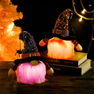 Dwarf Glowing Faceless Doll Halloween Party Decorations