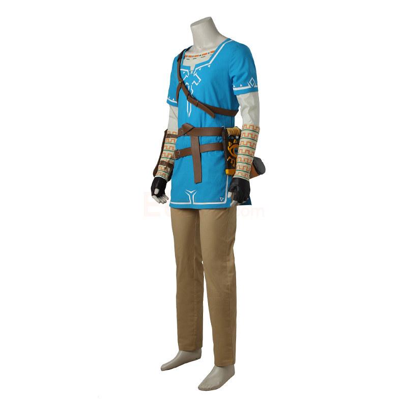 link costume the legend of zelda breath of the wild