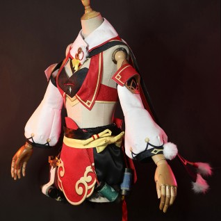 Yanfei Cosplay Costume Genshin Impact Dress