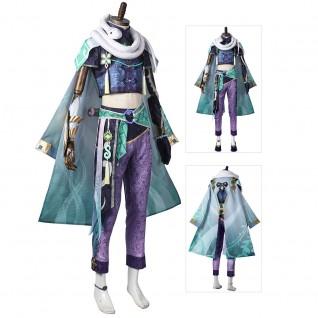 Genshin Impact Baizhu Game Cosplay Costumes