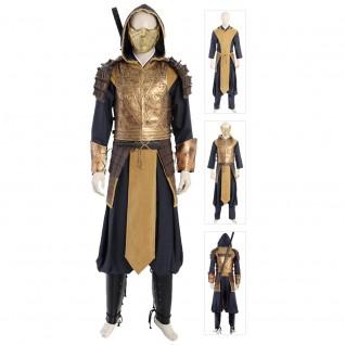 Mortal Kombat 11 Scorpion Hanzo Hasashi Cosplay Costumes