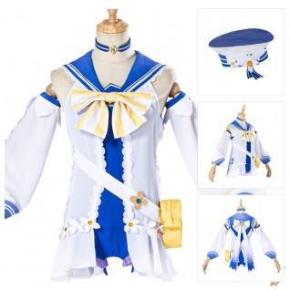 Game Genshin Impact Barbara Cosplay Costumes