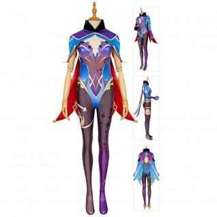 Mona Cosplay Costumes Game Genshin Impact Suit