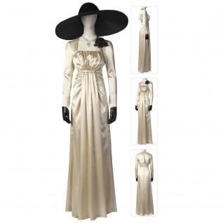 Resident Evil Village Lady Alcina Dimitrescu Dress Cosplay Costumes