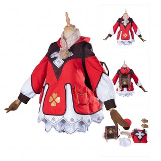 Klee Cosplay Costumes Game Genshin Impact Suit