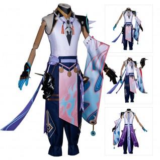 Xiao Cosplay Costume Game Genshin Impact Suit