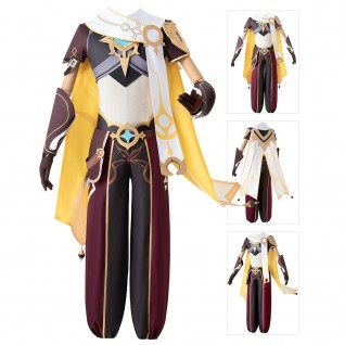 Traveler Cosplay Costumes Game Genshin Impact Suit