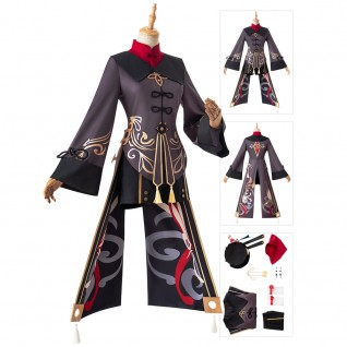 Hu Tao Cosplay Costumes Game Genshin Impact Suit