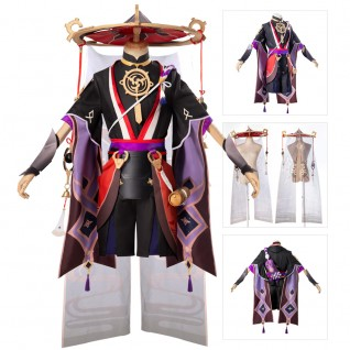 Scaramouche Cosplay Costumes Game Genshin Impact Suit