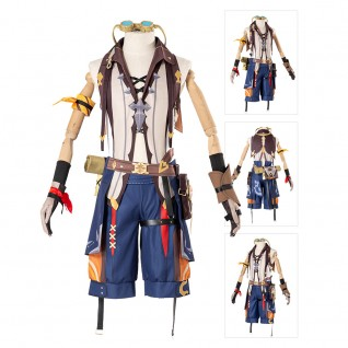 Bennett Cosplay Costumes Genshin Impact Suit