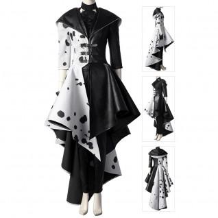 Cruella Cosplay Suit Cruella De Vil Costume Full Set