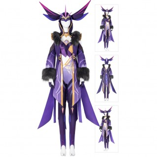 Fatui Cicin Mages Cosplay Costumes Game Genshin Impact Cosplay Suit