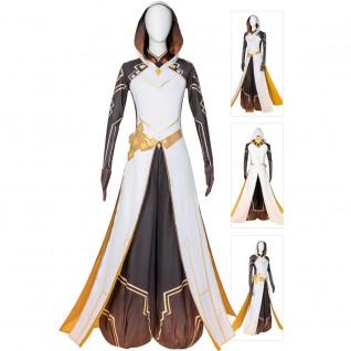 Game Genshin Impact Zhongli Cosplay Costumes