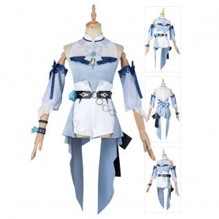 Game Genshin Impact Jean Sea Breeze Dandelion Cosplay Costumes