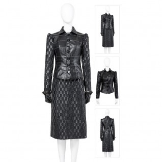 Cruella Cosplay Costumes 2021 De Vil Black Cosplay Suit