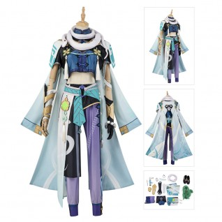 Baizhu Cosplay Costumes Game Genshin Impact Cosplay Suit