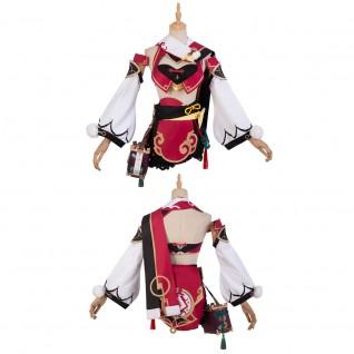 Game Genshin Impact Cosplay Suit Yanfei Cosplay Costumes