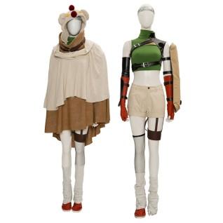 FF7 Yuffie Kisaragi Cosplay Costume Final Fantasy VII Cosplay Suit
