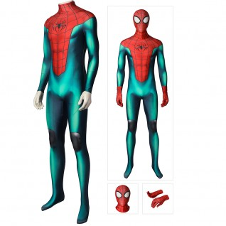 Spider-Man Cosplay Costumes PS5 Miles Morales Great Responsibility Cosplay Suit