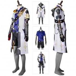 Albedo Cosplay Costumes Game Genshin Impact Cosplay Suit
