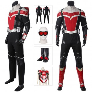 The Falcon and The Winter Soldier Sam Wilson Cosplay Costumes Suit
