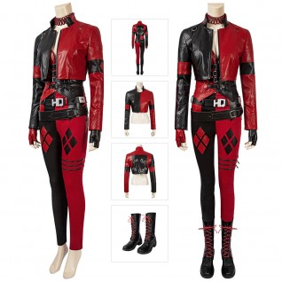 Harley Quinn Cosplay Costumes 2021 New The Suicide Squad 2 Harley Quinn Cosplay Suit