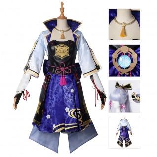 Kamisato Ayaka Cosplay Costumes Game Genshin Impact Suit