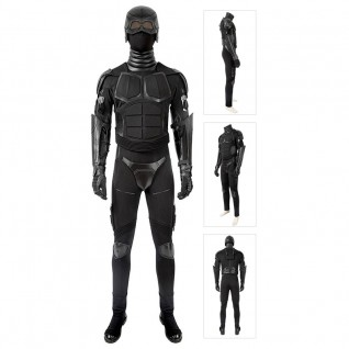 Black Noir Cosplay Costume The Boys Season 2 Suit