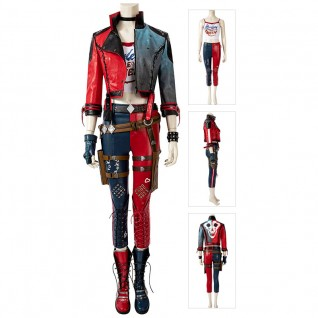 Harley Quinn Cosplay Costumes Suicide Squad Kill The Justice League Suit