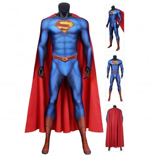 Superman Cosplay Costumes 2021 New Superman and Lois Clark Kent Cosplay Suit