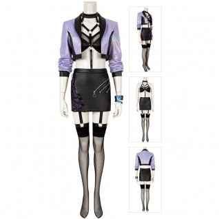 LOL KDA Evelynn Cosplay Costumes League Of Legends Suit