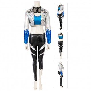 LOL KDA Akali Cosplay Costumes League Of Legends Suit
