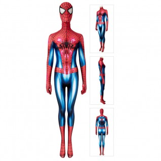 Female Spiderman Cosplay Costumes The Amazing Spider-Man Peter Parker Suit