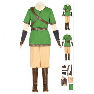 The Legend of Zelda Cosplay Suit Skyward Sword Link Cosplay Costumes