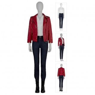 Resident Evil Infinite Darkness New Suit Claire Redfield Cosplay Costumes