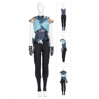 Jett Cosplay Costumes Game Valorant Cosplay Suit