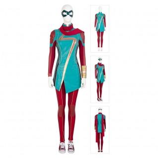 Kamala Khan Cosplay Costume Ms. Marvel Cosplay Suit