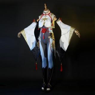 Shenhe Cosplay Costumes Game Genshin Impact Cosplay Suit