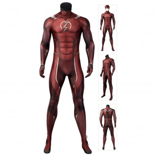 Injustice 2 The Flash The Flash Barry Allen Cosplay Costumes