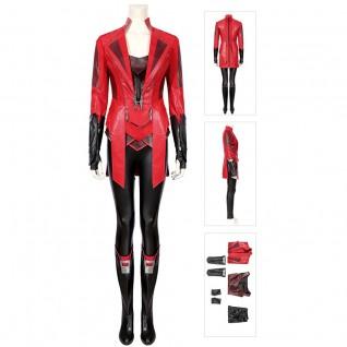 New Scarlet Witch Costume Captain America 3 Civil War Wanda Maximoff Suit