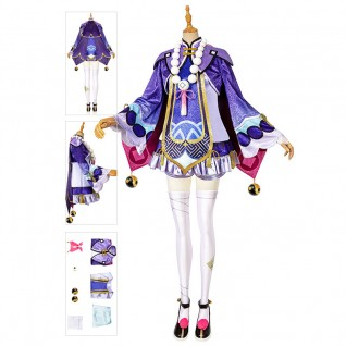 Qiqi Costume Genshin Impact Cosplay Suits