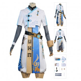 Chongyun Cosplay Costume Genshin Impact Cosplay Suit