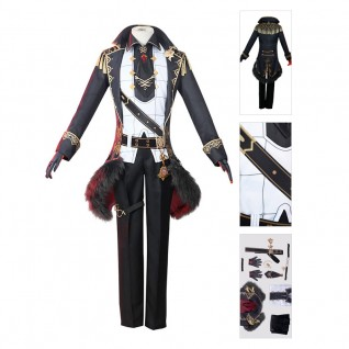 Diluc Cosplay Costume Genshin Impact Cosplay Suit