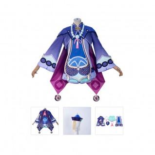Qiqi Cosplay Costume Genshin Impact Suits