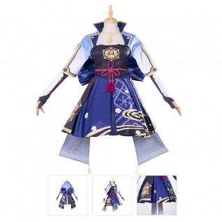 Ayaka Cosplay Costume Genshin Impact Cosplay Suit