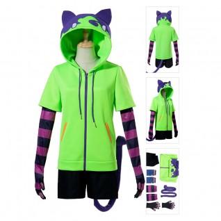 Miya Chinen Costume SK8 the Infinity Green Cosplay Suit